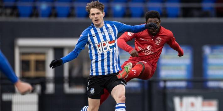 Kleinzoon PSV-legende zet krabbel onder eerste profcontract