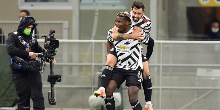 Pogba helpt United langs Milan, Rangers geeft alles weg