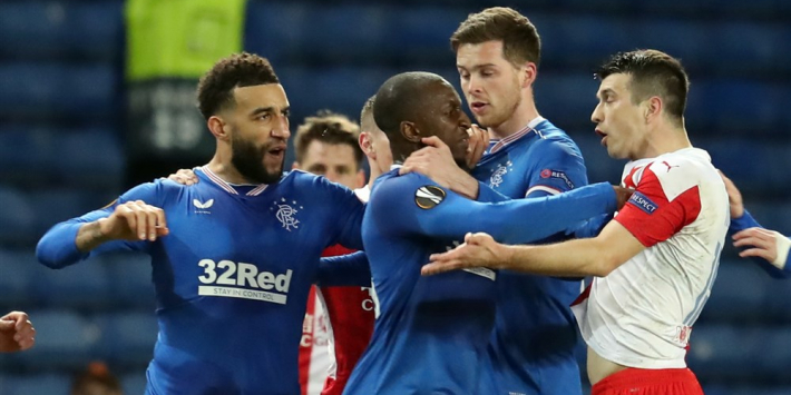 UEFA bestraft Kudela (Slavia) vanwege racisme tegen Rangers