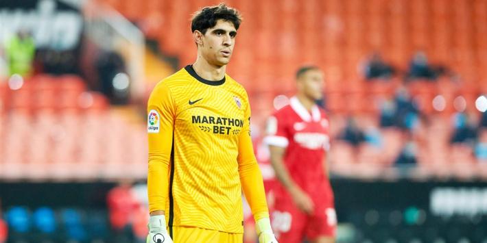 Trefzekere doelman bezorgt Sevilla punt bij Valladolid