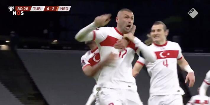 Video: Yilmaz maakt de 4-2 en schiet Oranje-hoop aan diggelen