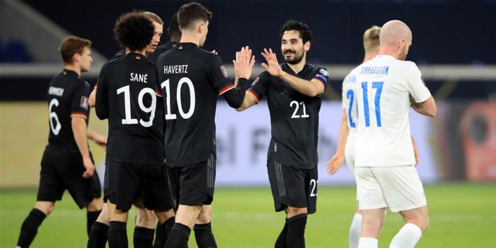 Simpele zege Duitsland in eerste duel na Spanje-debacle