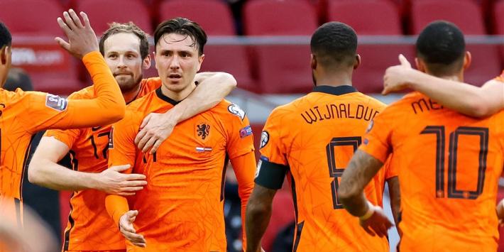 Oranje oefent ter voorbereiding op EK tegen Schotland en Georgië