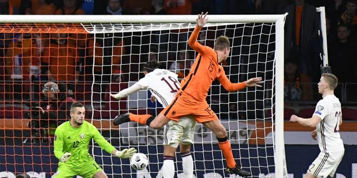 """Gemengde gevoelens bij De Jong: """"We moeten veel meer scoren"""""""
