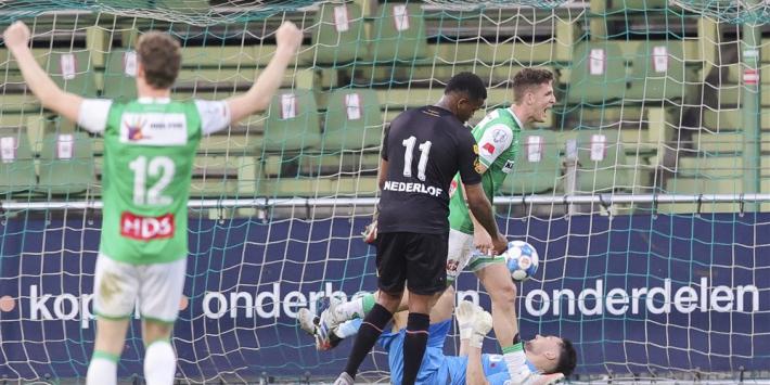 Dordrecht ontneemt Telstar laatste stiekeme hoop op play-offs