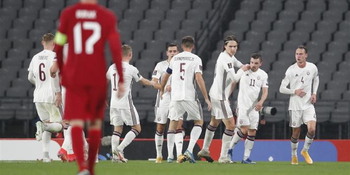 Blamage voor Turkije tegen Letland, Noorwegen wint wel