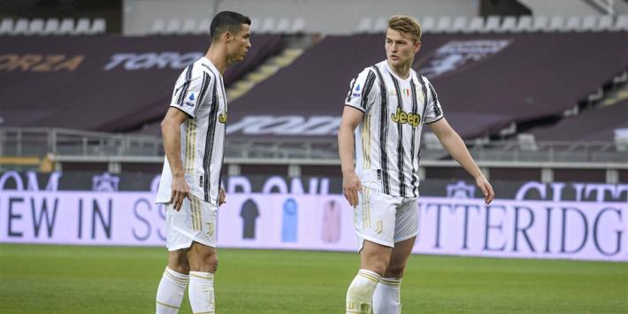 Juventus verder in problemen na puntverlies in derby