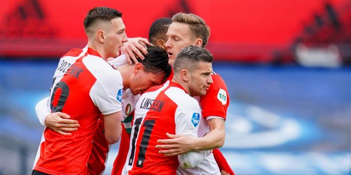 Gehavend Feyenoord rekent pas laat af met stug Fortuna Sittard