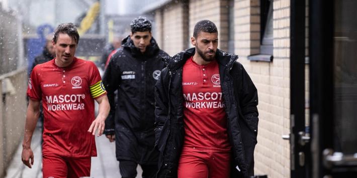 Almere City en Roda JC scoren ook in restant van duel niet