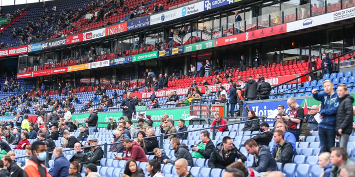 'Vanaf 25 april weer publiek welkom in stadions'