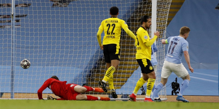 Late goal en arbitraal besluit nekken Dortmund bij Man City