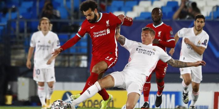 Real wint titanenstrijd van Liverpool en flirt met halve finale