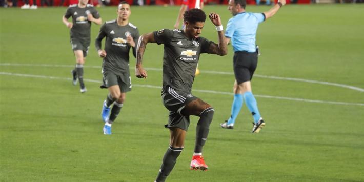 United zet grote stap richting halve finale Europa League