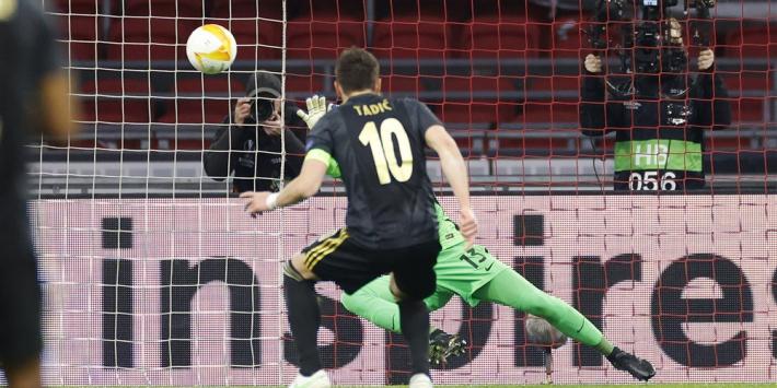 """Tadic zelfkritisch: """"Ik moet die penalty maken, simpel"""""""