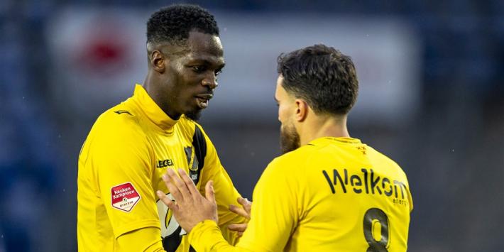 NAC voorkomt met late goals blamage tegen tiental Jong Utrecht
