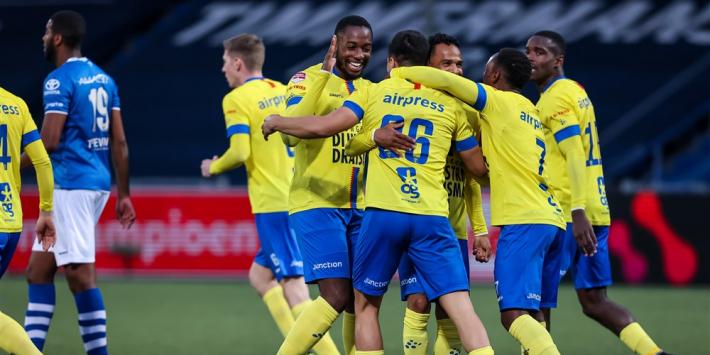 Cambuur door oog van de naald, ruime zege FC Volendam