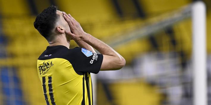 Vitesse na remise tegen ADO met slecht gevoel naar bekerfinale