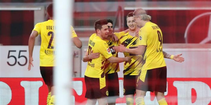 Dortmund komt goed weg, Chelsea wint wel overtuigend
