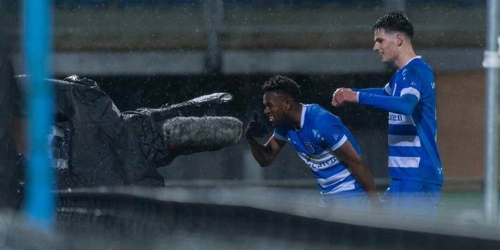 Play-offs uit zicht voor Twente na zeperd in Zwolle