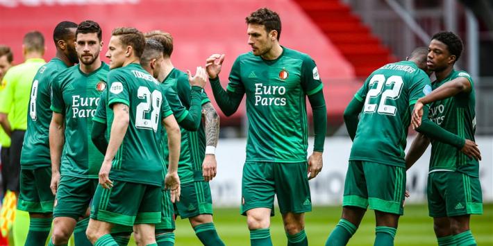 Feyenoord hervindt aansluiting na nipte overwinning op Utrecht