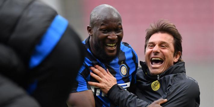 De Vrij en Inter kunnen titel bijna ruiken na benauwde zege