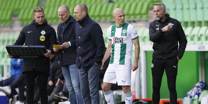 Robben mist ontmoeting met oude club PSV