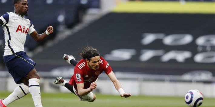 Cavani zorgt voor revanche United bij Tottenham Hotspur