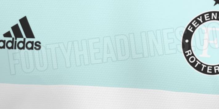 Gelekt: dit wordt vermoedelijk het nieuwe uitshirt van Feyenoord