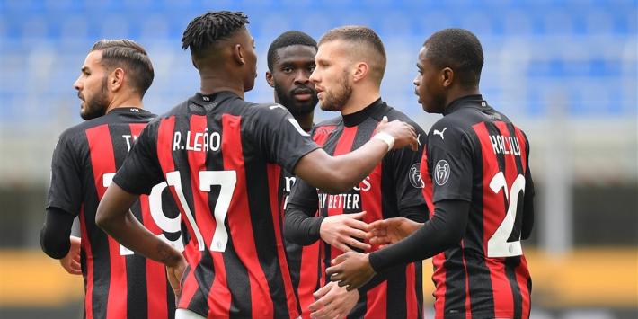 Eigen doelpunt Scamacca helpt AC Milan aan zege