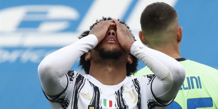 Ronaldo-loos Juventus verliest en vreest voor CL-ticket