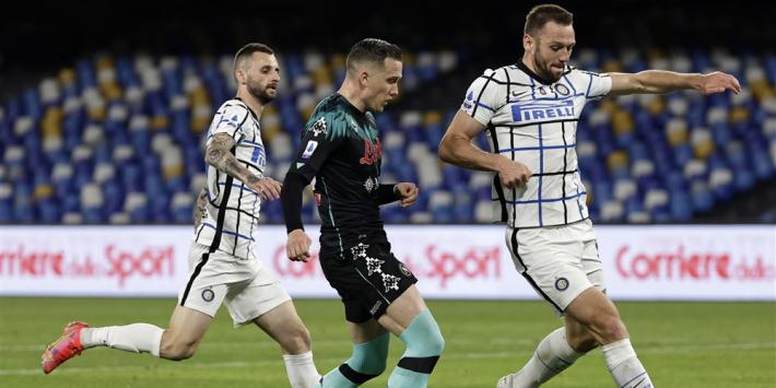 Ongelukkige hoofdrol De Vrij zorgt niet voor verlies Internazionale