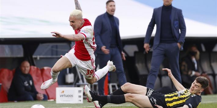 Rasmussen mist Feyenoord-uit na smerige tackle