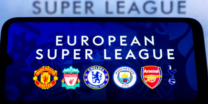 Alle Premier League-clubs stappen uit Super League!