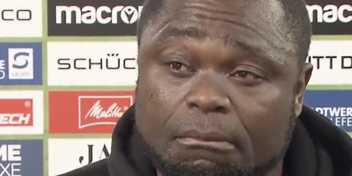 Echte clubliefde: Asamoah in tranen na degradatie Schalke 04