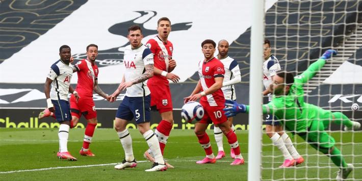 Tottenham ontsnapt in eerste duel zonder Mourinho