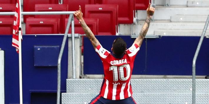 Atlético herovert koppositie en voert druk op concurrentie op