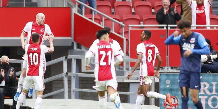 Kranten loven officieus kampioen Ajax: 'Op alle fronten de beste'