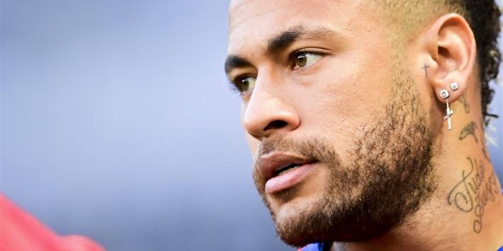 Kritiek op gedrag Neymar ten opzichte van Bakker
