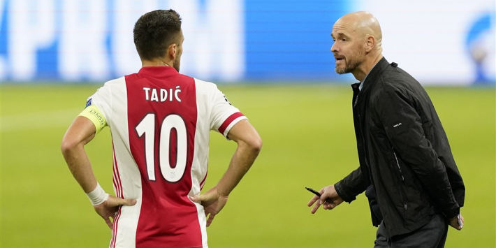 "Tadic looft Ten Hag en Gravenberch: ""Een topcoach"""
