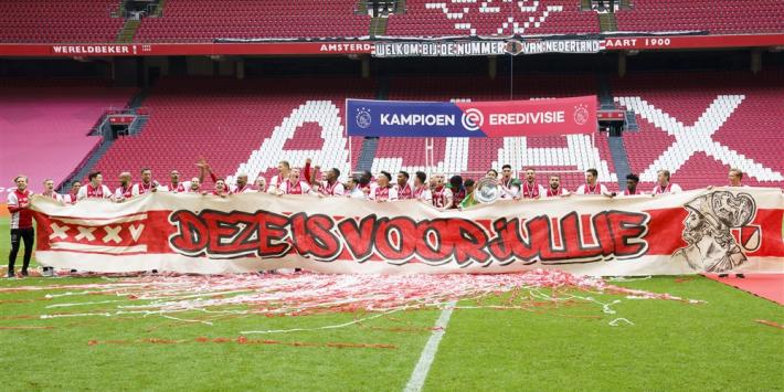 Driehoek greep bewust niet in bij Ajax-feest, wel 15 aanhoudingen