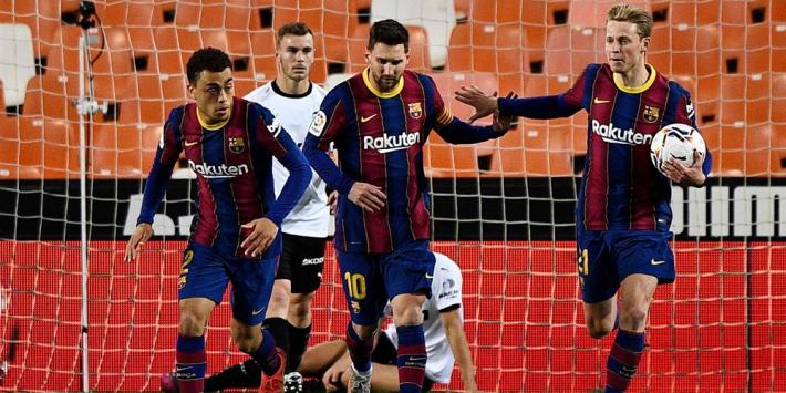Barcelona-selectie barbecuet bij Messi: 'Campeones, campeones!'