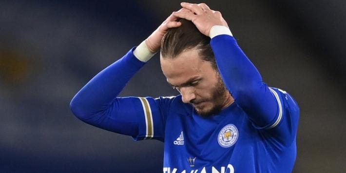 CL-ticket Leicester in gevaar na verrassende nederlaag