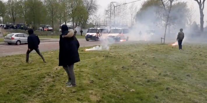 Feyenoord-fans slaags met politie bij afsluitende training