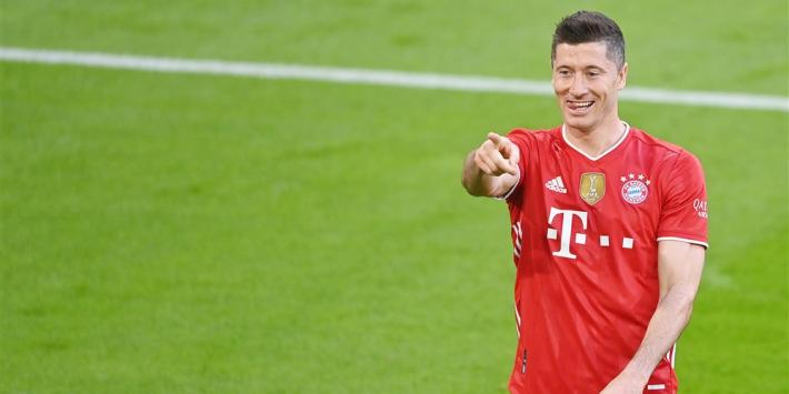 Lewandowski schrijft Bundesliga-historie met goal 41