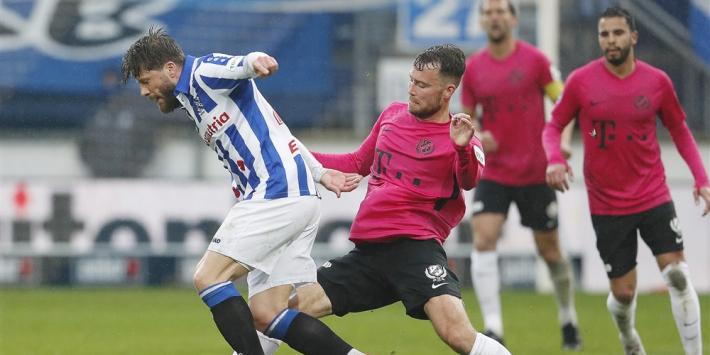 Heerenveen kan play-offs vergeten na nieuwe remise