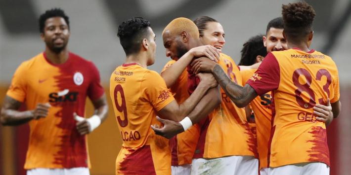 Babel helpt 'Gala' aan winst, spanning te snijden in Süper Lig