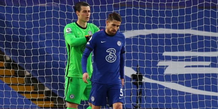 Blunder Jorginho kost Chelsea derby en CL-zekerheid