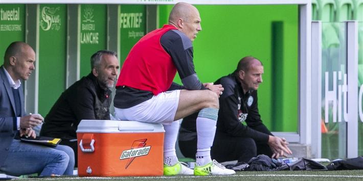 Robben ontbreekt komend weekend bij FC Groningen