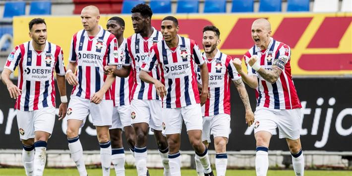 Willem II veroordeelt eveneens winnend Emmen tot nacompetitie