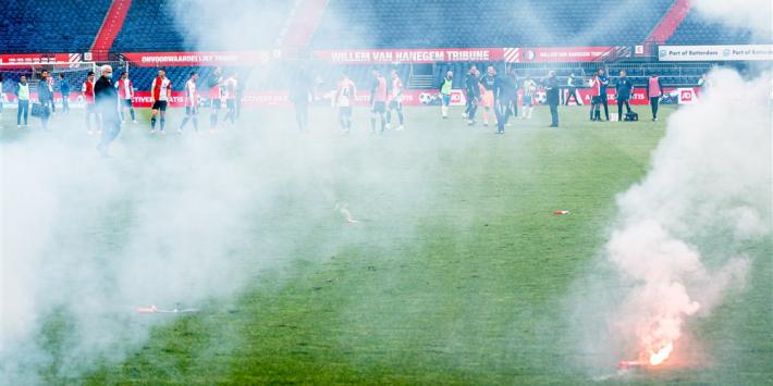 Binnengedrongen Feyenoord-fans hadden vermoedelijk sleutel